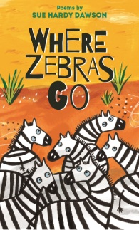 where zebras go small poster cover