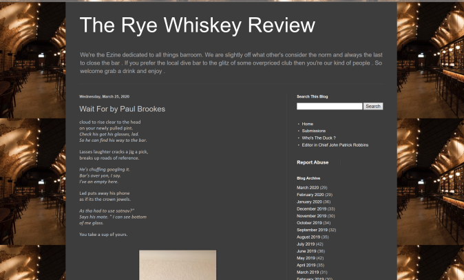 The Rye Whiskey Review