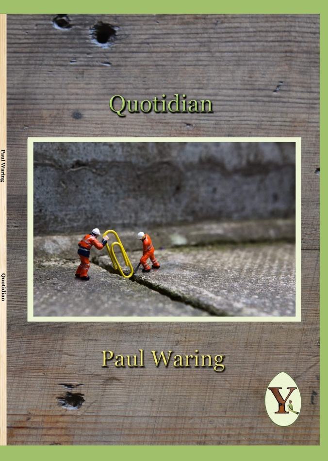 Paul Waring Quotidian cover