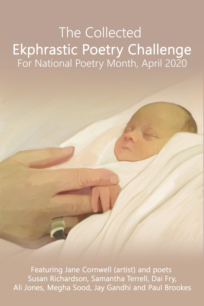 The Ekphrastic Challenge April 2020 Front cover by Jane Cornwell