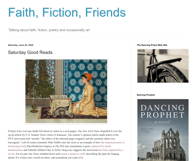 Faith, Fiction and Friends Unreal Wombwell