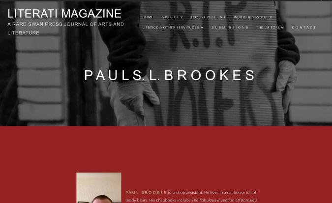 My Page at Lierati Magazine