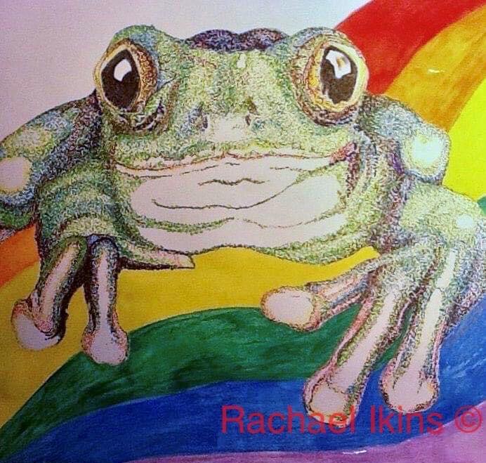 A Frog Named Pride by Rachael Ikins