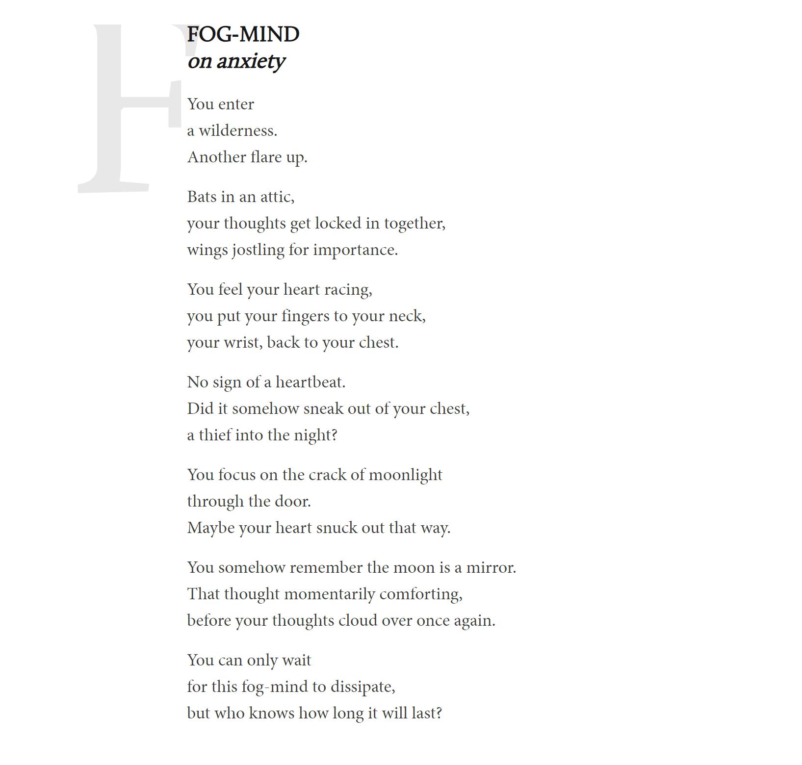 Fog-Mind By Greg Santos
