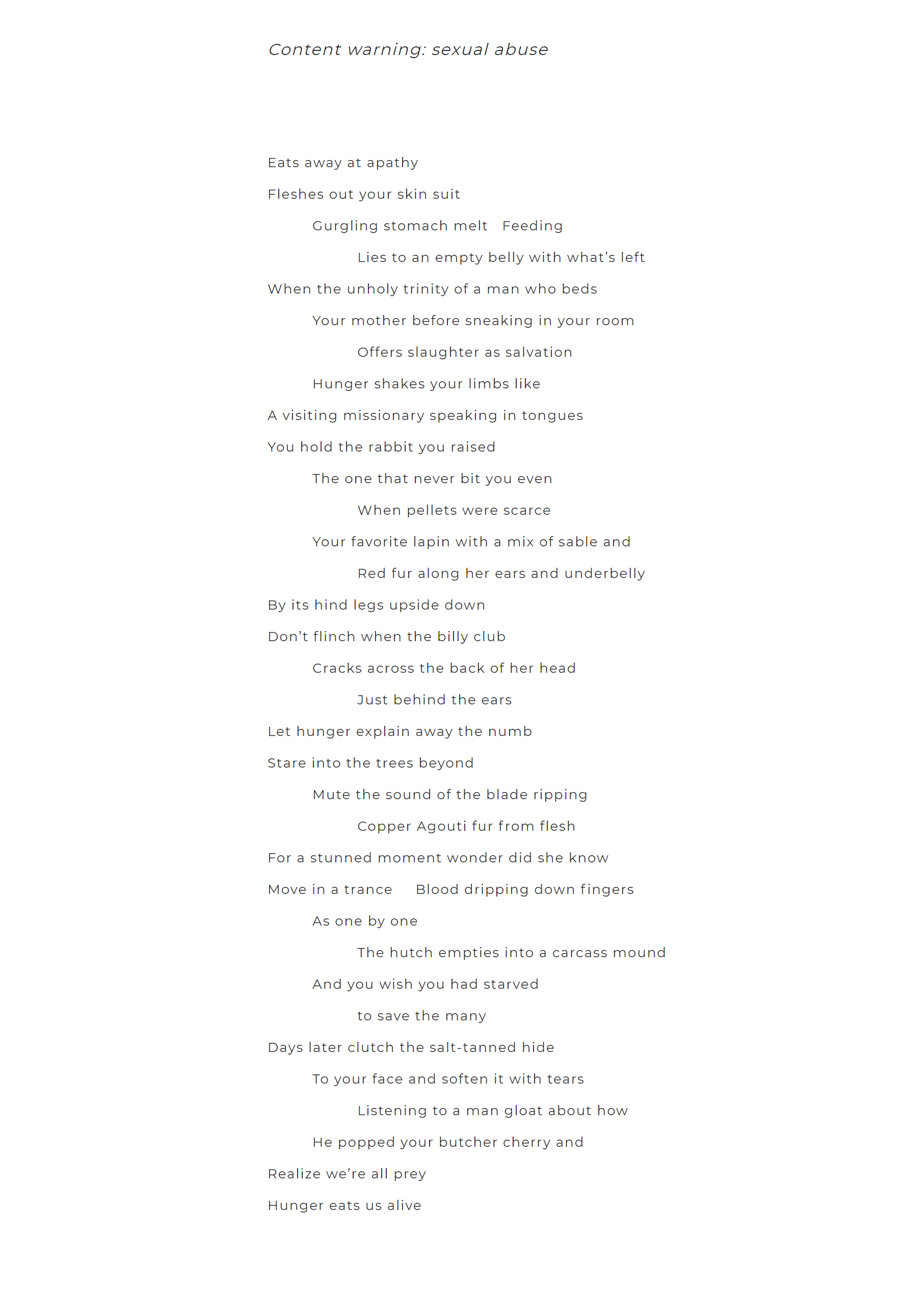 I Hunger by Sage Ravenwood