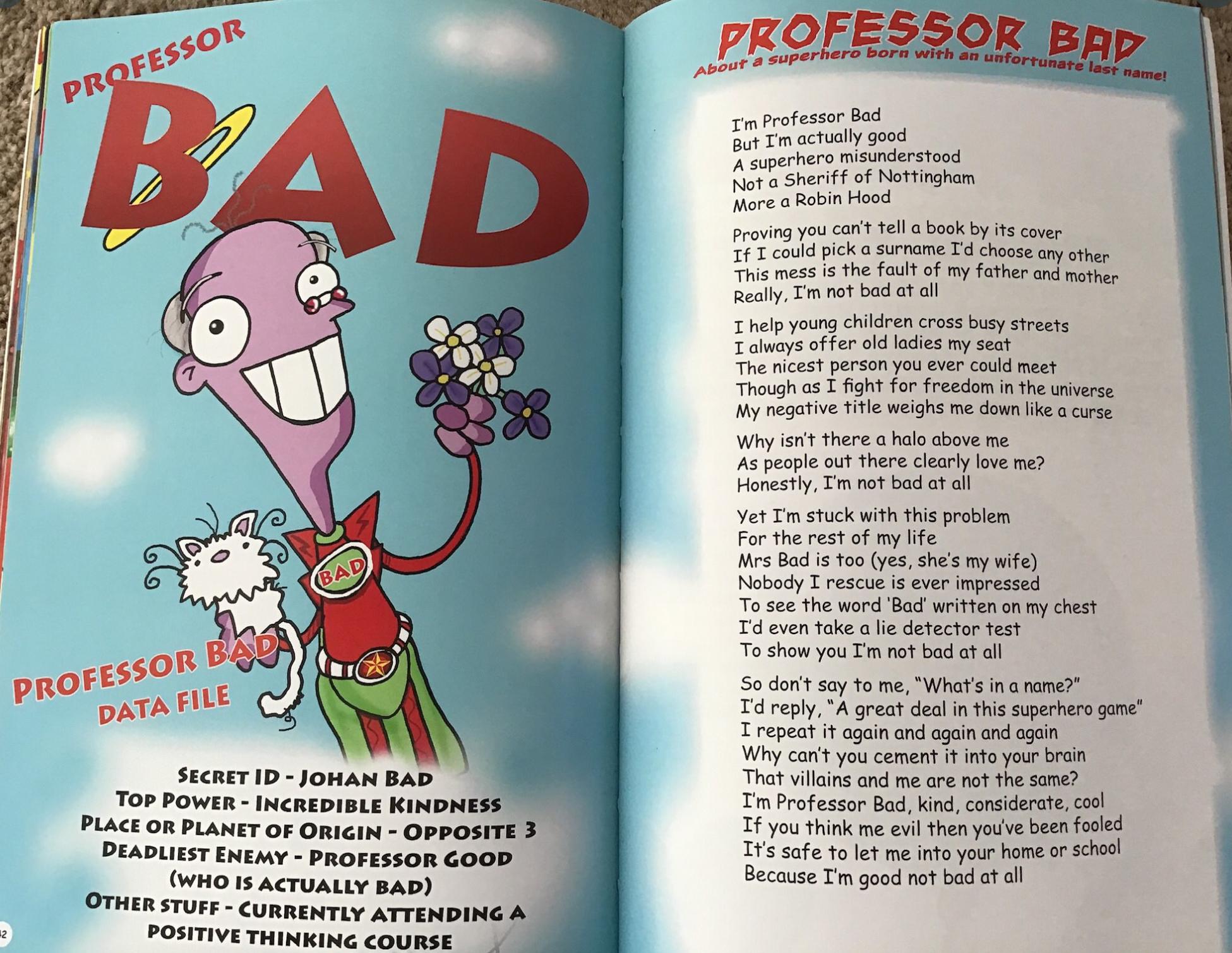 Professor Bad by Neal Zetter