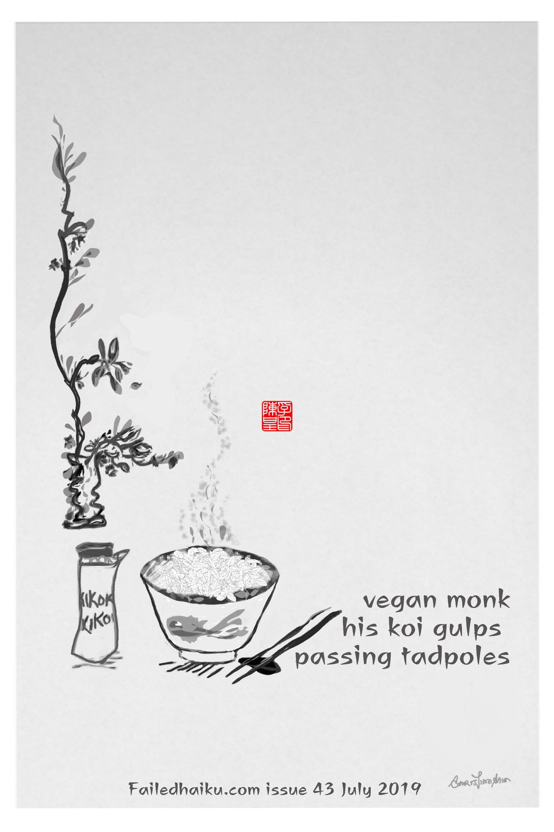 ChristinaChin _ vegan monk_ Failed Haiku