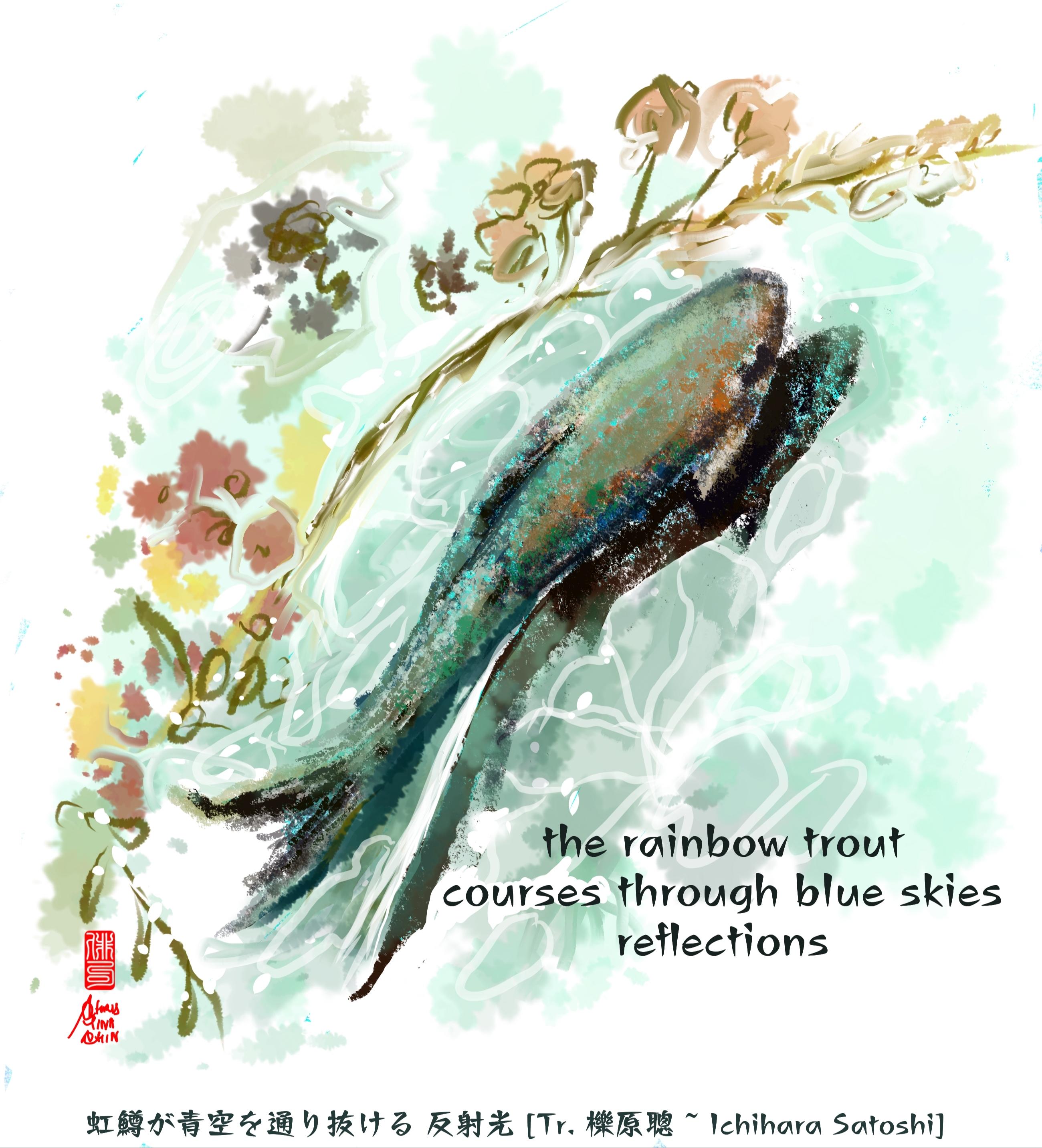 ChristinaChin_rainbow trout_ Fireflies's Light