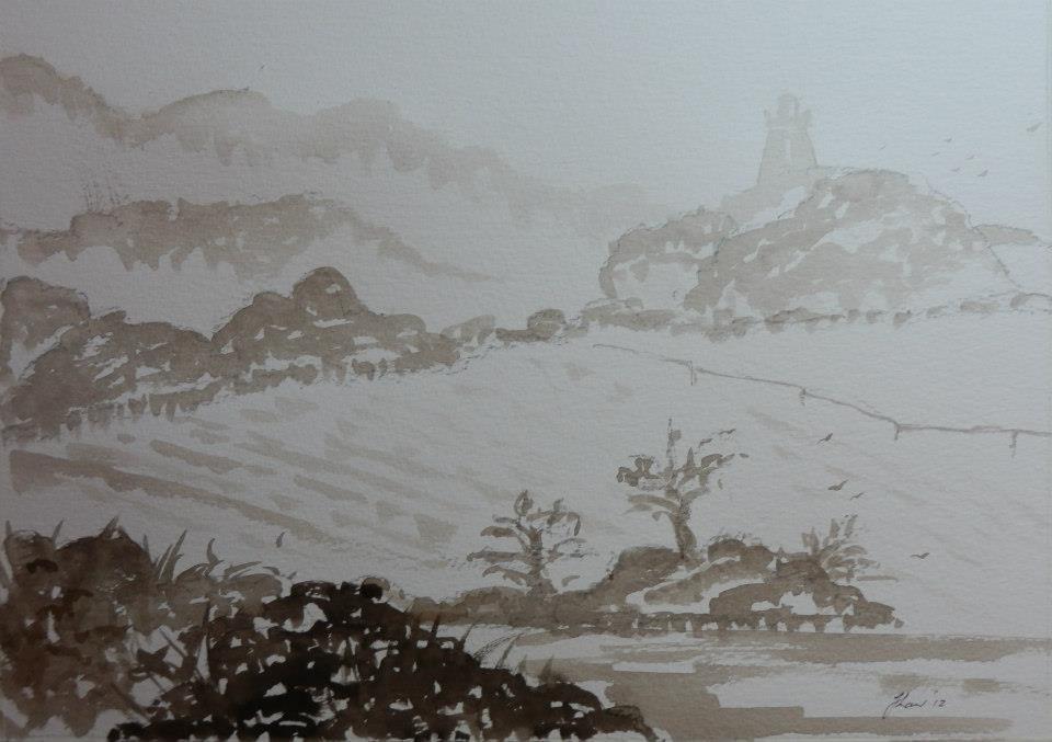 JL20 Hoober Stand in mist