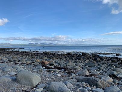 Llanystumdwy beach slw