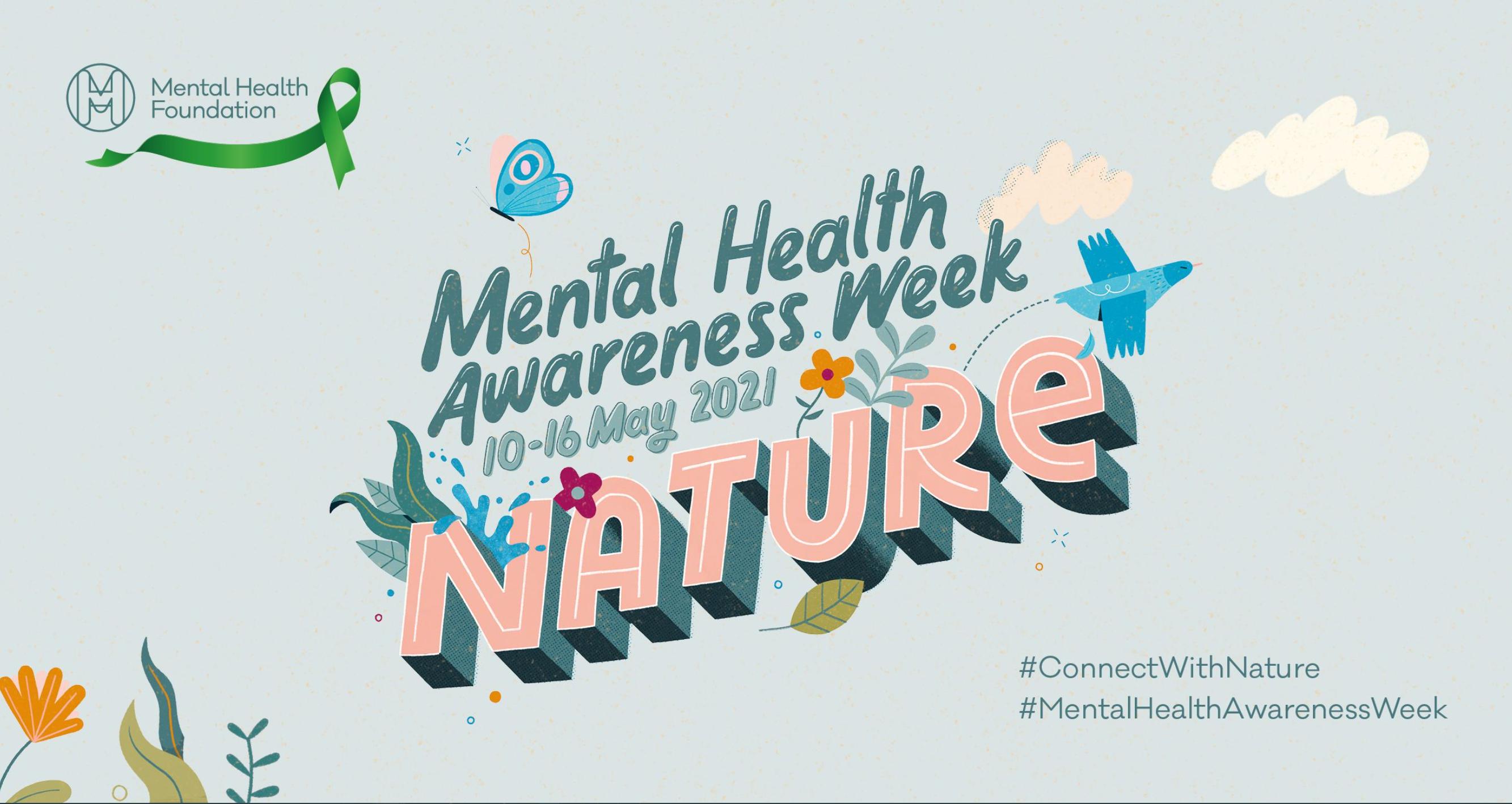 Mental Health Awareness 2021 poster