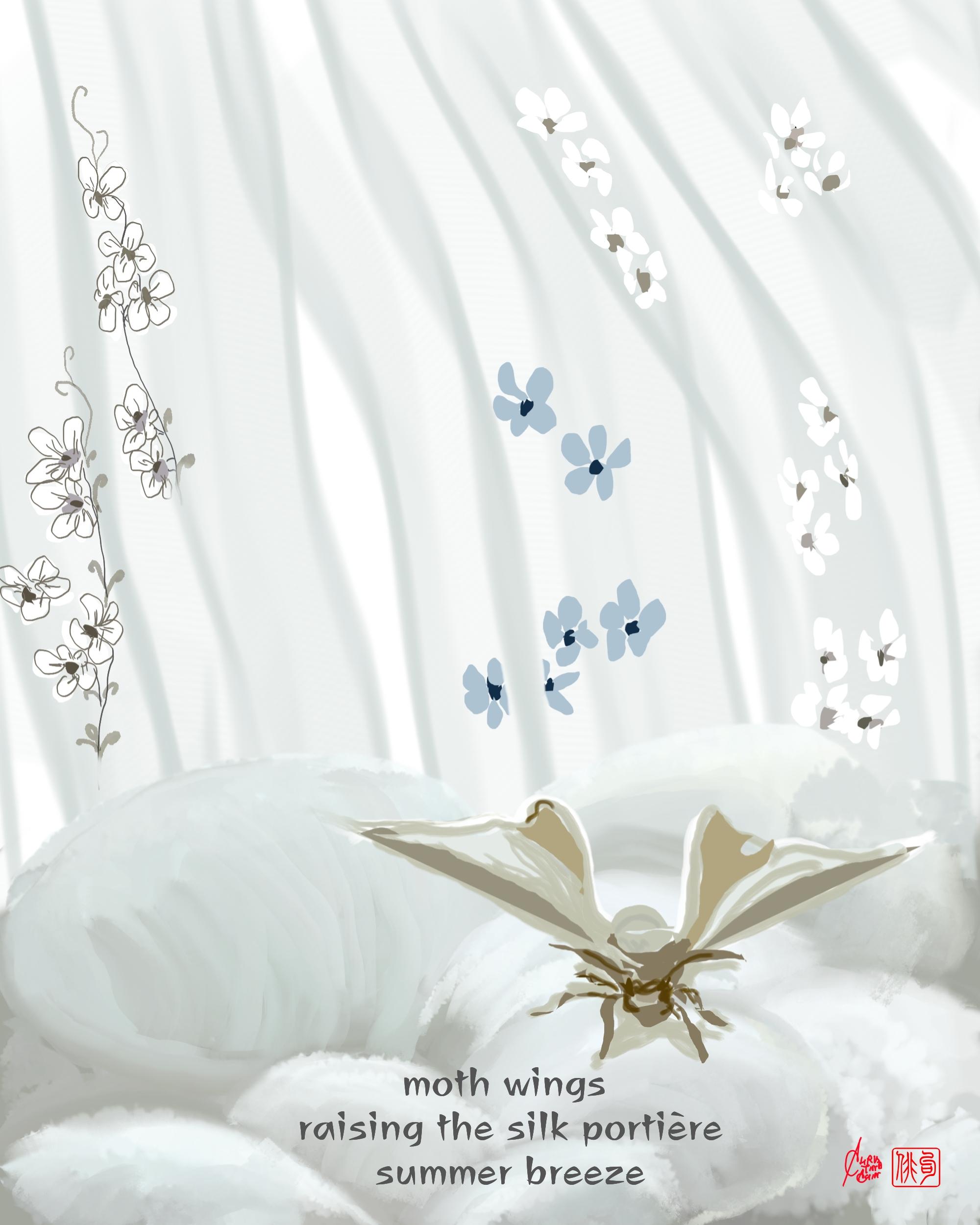 ChristinaChin silk portière Cantos 2021