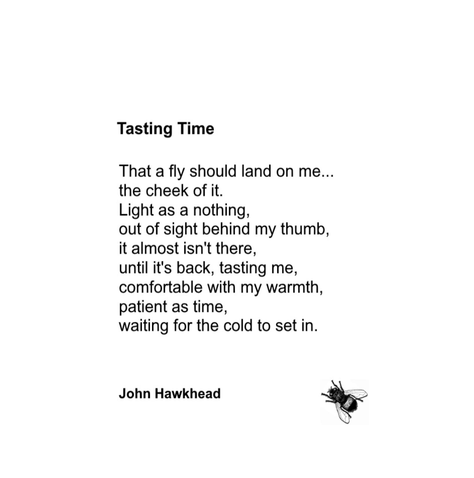 Tasting Time by John Hawkhead
