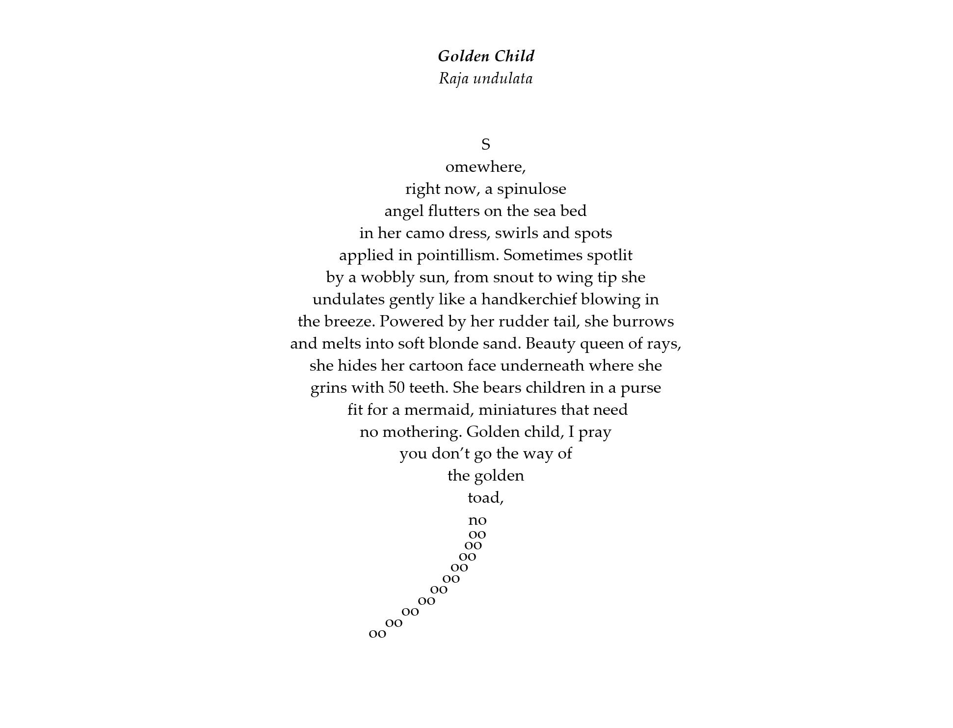 Golden Child by Annest Gwilym