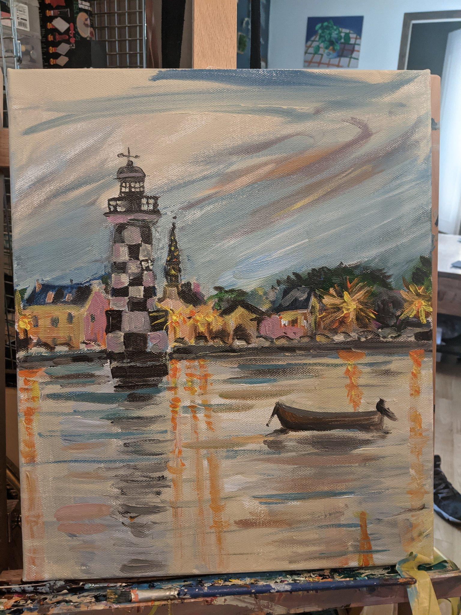 Claire Trevien Lighthouse