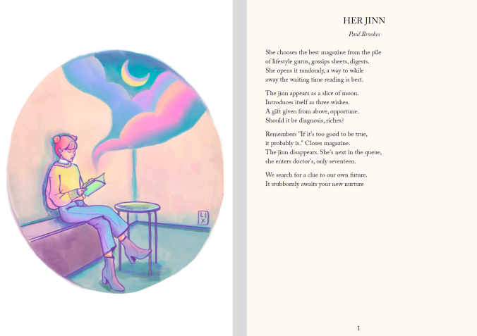 Her Jinn published in Visual Verse