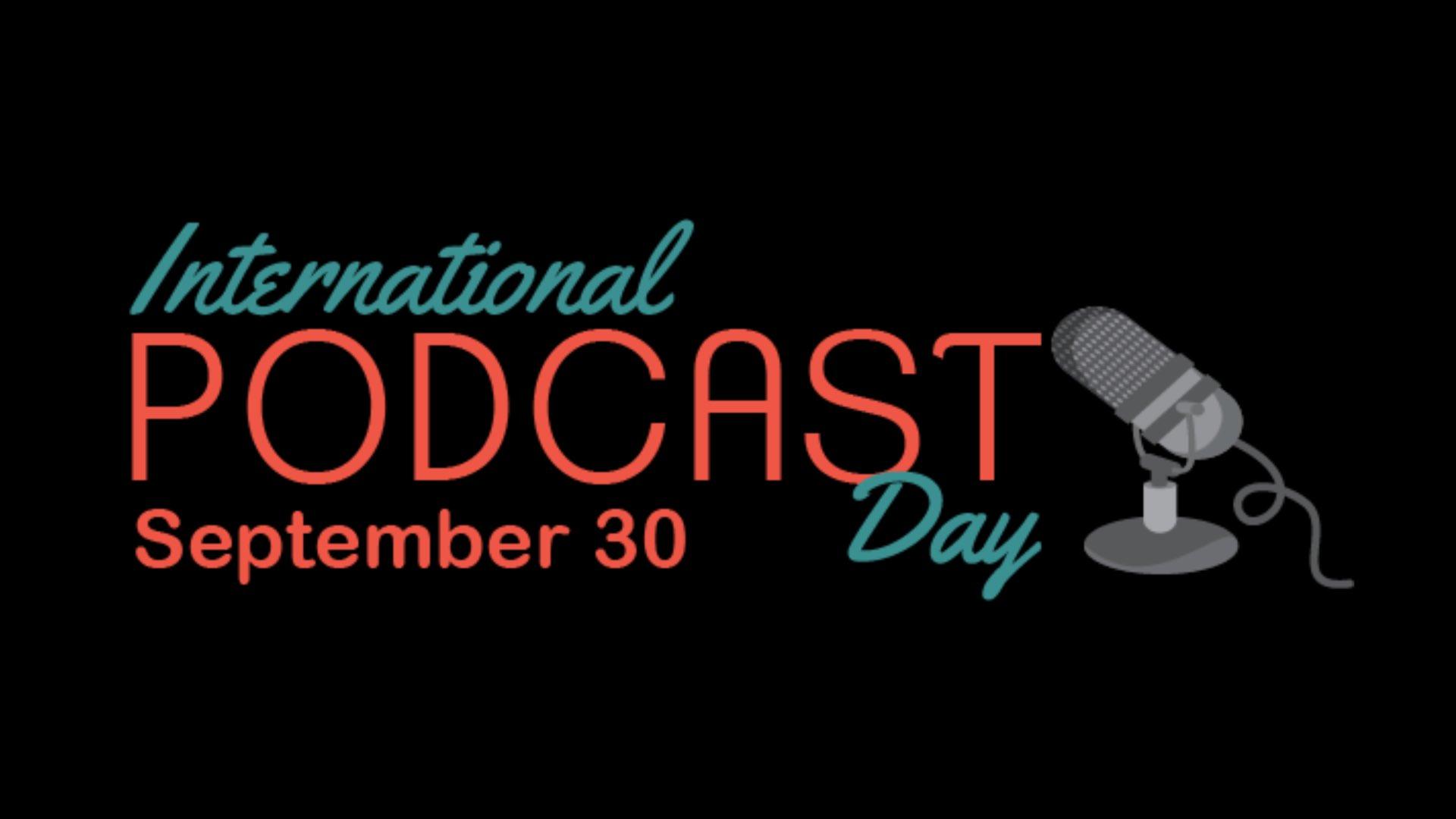 international podcast day poster